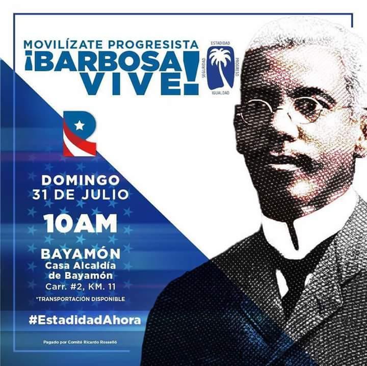 PUERTO RICO CONMEMORA ELNATALICIO DE JOSE CELSOBARBOSA